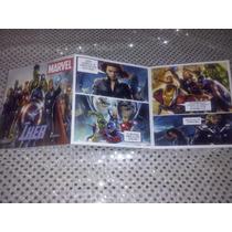 12 Invitaciones Comic Avengers, Tipo Historieta