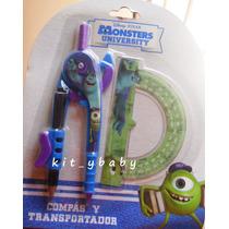 Fiesta D Monster Inc. Y Super Heróes, Compás Y Transportador