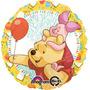 Globo Winnie Pooh Paq 6 Pzas Medida 18 Pulgadas Para Helio