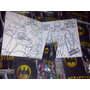 Invitacion Batman Cuento Para Coloreal Y Crayolas