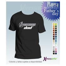 Dia Papa Playera Personalizada