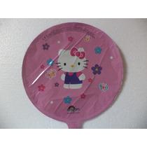 Globos Metálicos 10 Hello Kitty Fiestas Eventos Decoración.