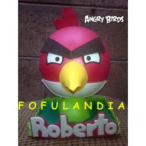 Fofuchas, Angrybirds, Centros D Mesa, Fiestas, Cumpleaños Y+