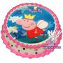 Peppa Pig Oblea Para Pastel O Vela. Todo Para Tu Fiesta.