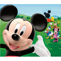 Kit Imprimible Mickey Mouse Candy Bar Invitaciones Cotillon
