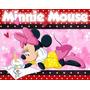 Kit Imprimible Minnie Mouse, Invitaciones Y Cajitas