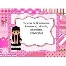 Kit Imprimible Tarjetas De Graduacion Graduaciones Etiqueta