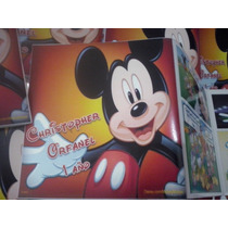 12 Invitaciones Comic Mickey Mouse Tipo Historieta Nuevas!