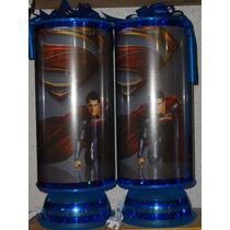 Superman Centros De Mesa,recuerdos, Lamparas 1regalo