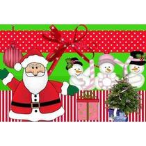 Kit Imprimible Navidad Tarjetas Patrones Marcos Fondos Image