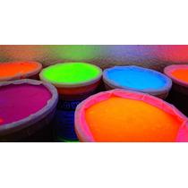 1 Litro Pintura Neon Luz Negra Eventos Glow Cyalume