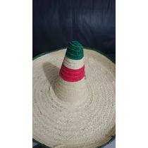 Paquete 20 Sombrero Zapata Gigante Hat Handcraft Mexico