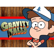 Kit Imprimible Gravity Falls, Invitaciones Y Cajitas