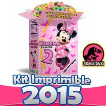 Kit Imprimible Minnie Mouse Mimi Todo Para Fiesta Nuevo 2015