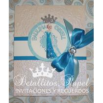 Invitaciones Frozen Princesas Presentación Cumpleaños