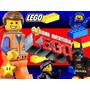 Kit Imprimible Lego, Invitaciones Y Cajitas