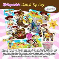 Kit Imprimible Jessie Toy Story Tarjeta Invitaciones Cumplea