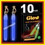 10 Aretes Luminosos Luz Neón Fiesta Boda Dj Xv Batucada Glow