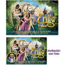 Kit Imprimible Enredados Rapunzel Princesas Disney