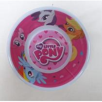 Fiesta My Little Pony Plato Tazon Melamina Como Recuerdo