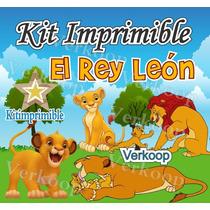 Kit Imprimible El Rey Leon Candy Bar Personaliza Tu Fiesta M