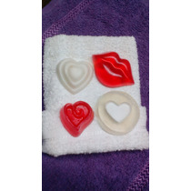 Jabones Corazones,san Valentín, Dia Del Amor C/toalla Facial