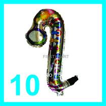 10 Saxofones Inflables Globo Fiestas Dj Batucada Xv Boda