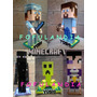 Minecraft Fofuchas, Centros De Mesa, Fiestas, Cumpleaños