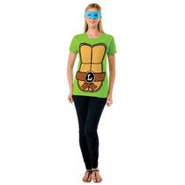 Traje Teenage Mutant Ninja Turtles Top De Rubie Con