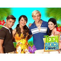 Kit Imprimible Teen Beach Movie Diseña Tarjetas Cumples Mas
