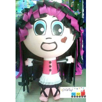 Piñata Monster High Draculaura Abbey Toralei Frankie Clawd