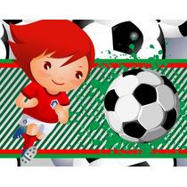 Invitaciones De Futbol Diseñá Tarjetas , Cumples Y Mas
