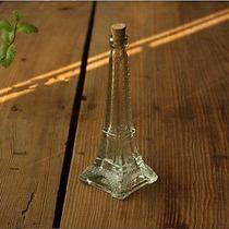 Botella De Vidrio En Forma De Torre Eiffel