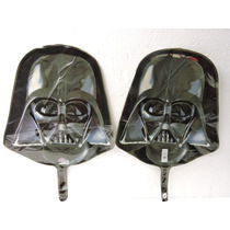 Globos Star Wars Darth Vader Fiestas 10 Metalicos 14 Pulgada