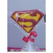 Paleta De Chocolate Superman