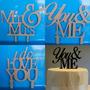 Letras Para Pastel Personaliza Mdf Centro De Mesa Decoración