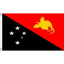 Papúa Nueva Guinea Bandera - Guineano 5ftx 3ft Nacional País