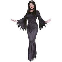 Morticia Addams Family Para Mujer Del Traje De Halloween