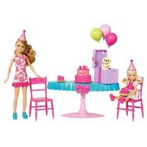 La Fiesta De Cumpleaños De Barbie Chelsea Playset