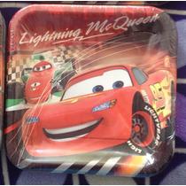 Kit Para Fiesta Cars Disney Platos,decorativo, Servilletas.