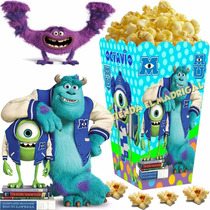 Kit Imprimible Monster Monsters University Inc Candy Bar