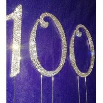 Adorno Para Pastel, Cake Topper Numero 100