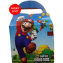 Mario Bros 10 Loncheras Cajitas Articulos De Fiesta