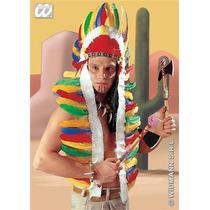 Disfraz Indio - Emplumada Americano Tocado Vestido De Lujo