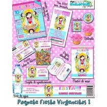 Invitaciones Virgencitas-invitaciones Infantiles-santitos