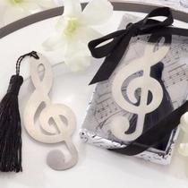 Paquete De 20 Separador De Libros En Forma De Nota Musical