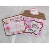 30 Sobres Con Invitación Baby Shower Despedida De Soltera