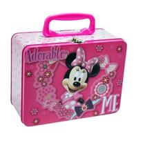 Lonchera Metalica Minnie Mouse Dulcero Fiesta