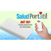 Promocional Tarjeta Antibacterial,autos,serigrafia,bolsa,lqe