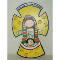 Cruz De La Virgencitas Plis Para Primera Comunion